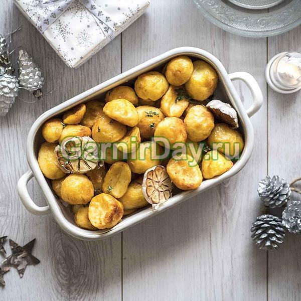 Картофель для начинки печеный в микроволновке