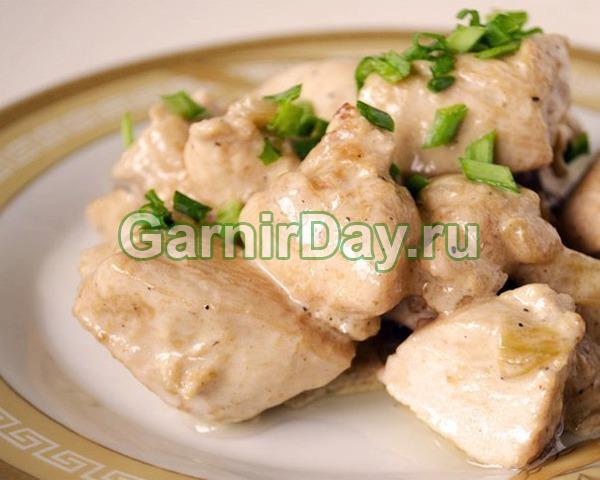 Курица в сливочном соусе – классический рецепт