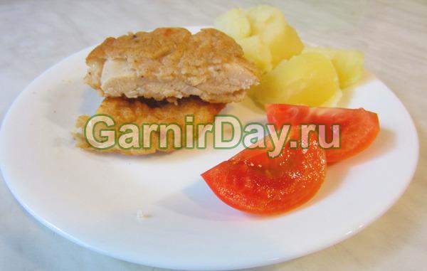 Куриное филе в картофельном кляре