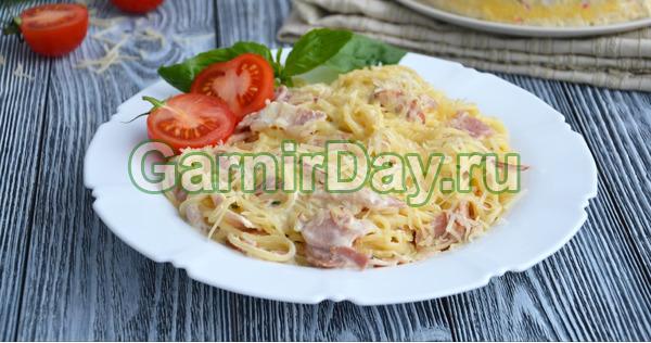 Паста карбонара - классический рецепт