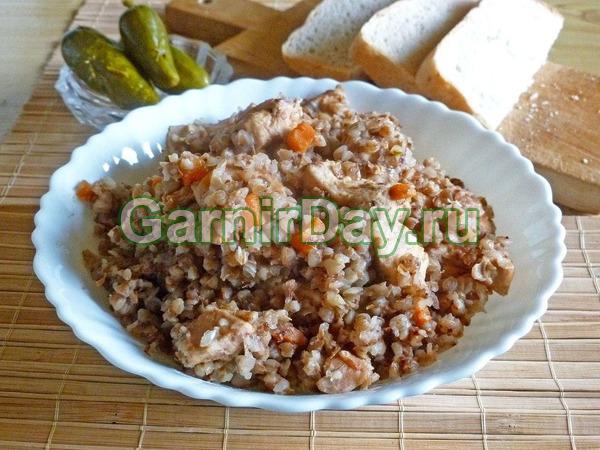 Классический рецепт гречки с курицей в духовке